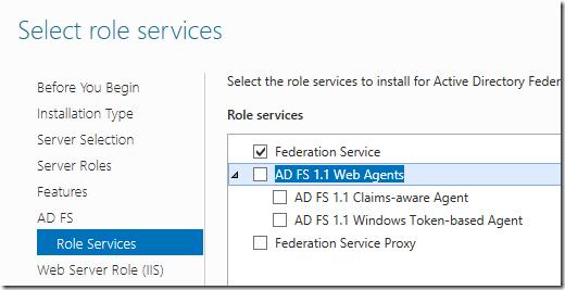 Role Services